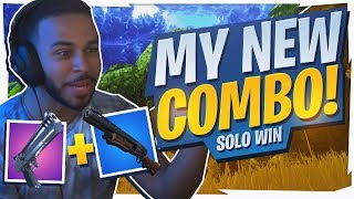 MY NEW FAVORITE COMBO! PUMP + DEAGLE GAMEPLAY (Fortnite BR Full Game)