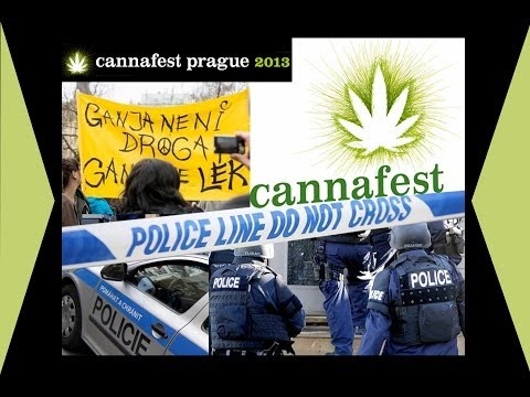 93° BlunTV English - Cannafest & police raids in Czech Republic - Legalizace