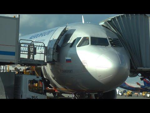 Авиаперелёт Москва-Ставрополь (4K)