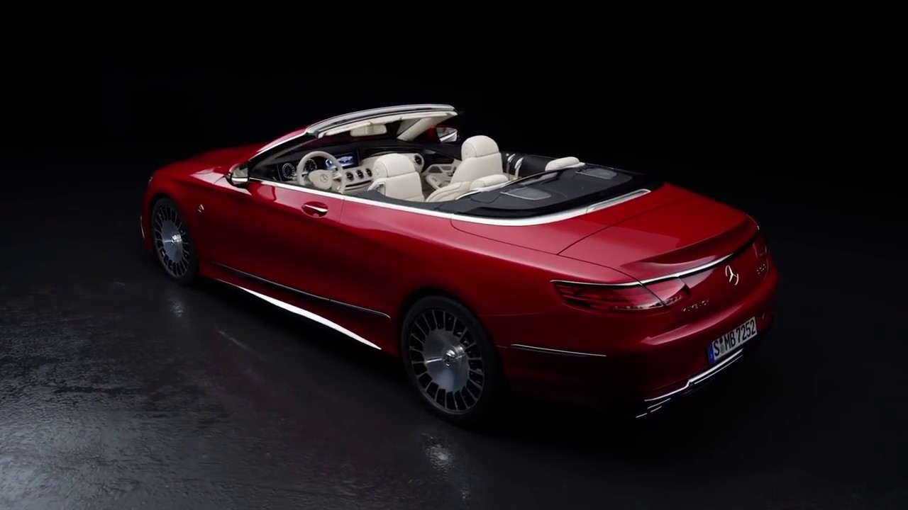 Mercedes-Maybach S 650 Cabriolet 2017 - YouTube