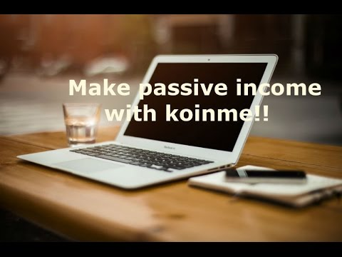 Make passive income watching videos with Koinme!! - YouTube