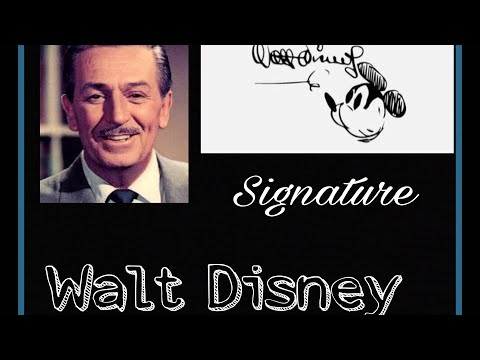 The Coolest Signatures Of Famous People Through History