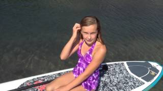 How to teach kids to Stand Up Paddle Board