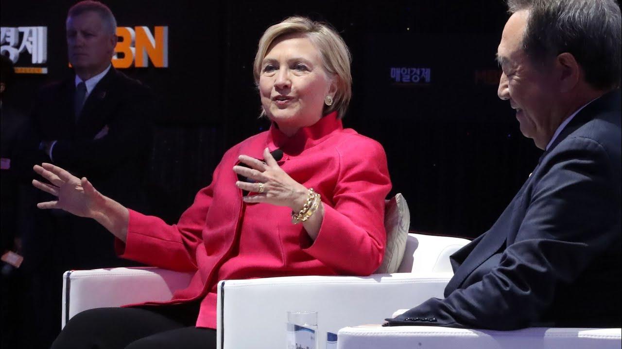 Hillary Clinton says threats to North Korea 'dangerous, short-sighted'