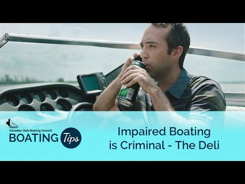 Impaired Boating is Criminal - The Deli