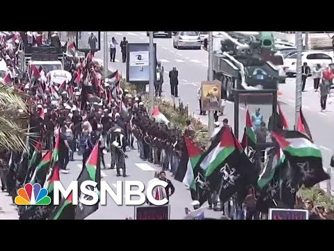 Protests Erupt As The US Opens Its Embassy In Jerusalem | Velshi & Ruhle | MSNBC