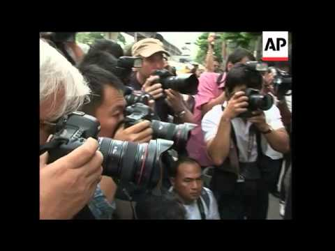 Indonesian FM protest against Suu Kyi's trial, protest rally