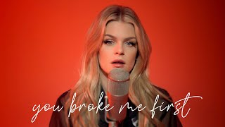 you broke me first - Tate McRae (Cover by Davina Michelle)