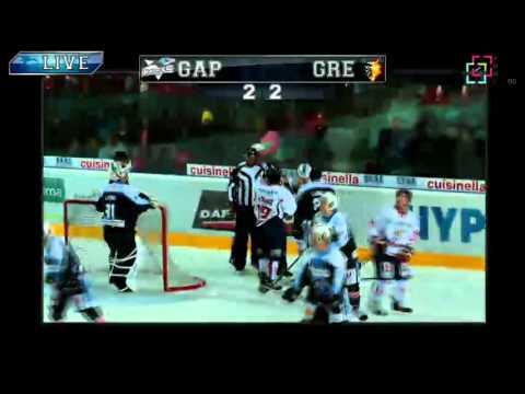 Gap - Grenoble, Coupe de la Ligue J5