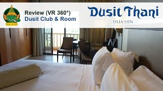 Dusit Thani Hua Hin Hotel - Dusit Club & Room review walk thru in V...