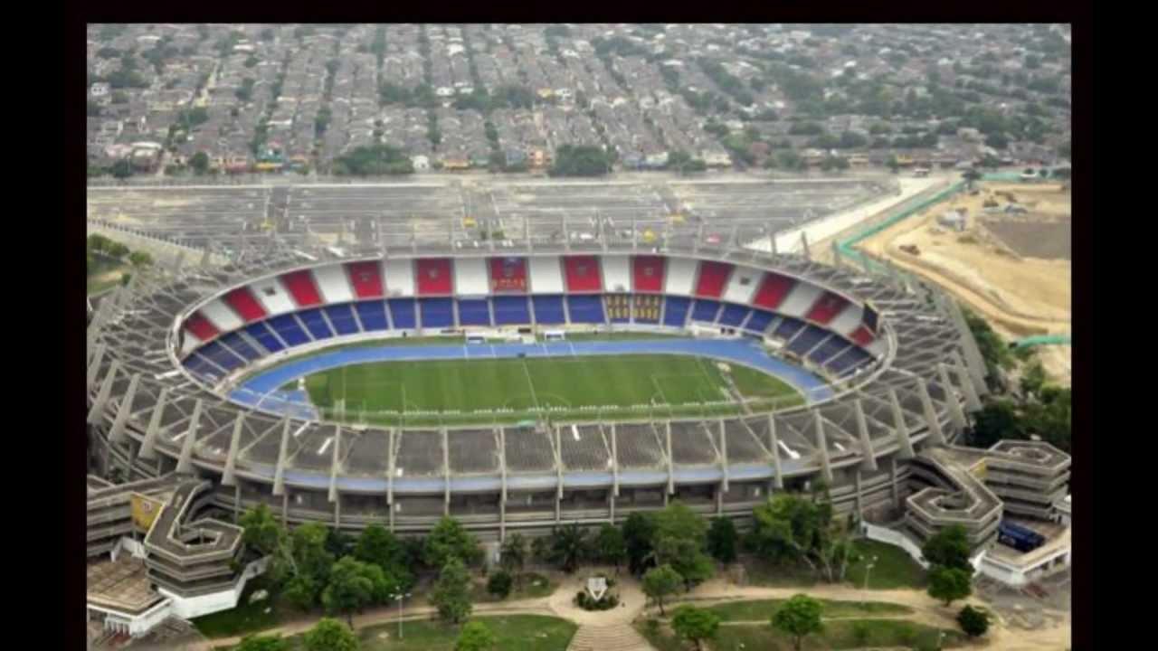 Estadio metropolitano de Barranquilla Sede de la Selección Colombia ... Barranquilla