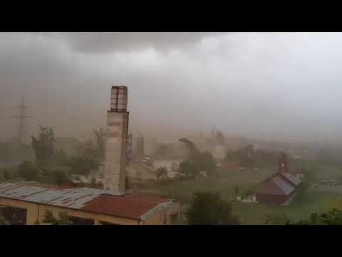 Uragan in Timisoara 17/09/2017