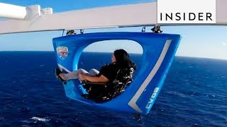 SkyRide On Carnival Vista Cruise Lets You Bike Above The Ocean