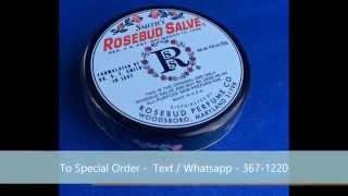 Where to Buy Rosebud Salve Lip Balm For Sale in Kingston Jamaica