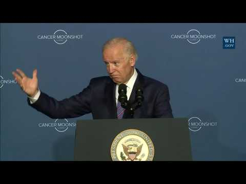 Vice President Biden Delivers Remarks at the Cancer Moonshot Summit
