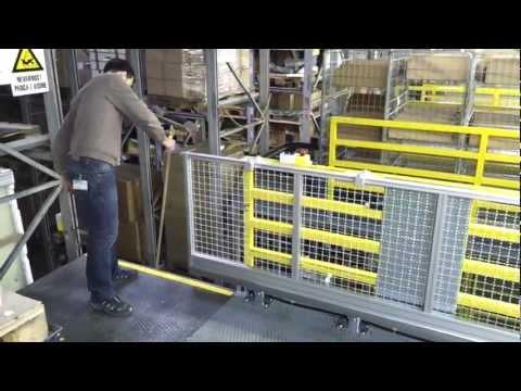 Industrial automatic sliding doors