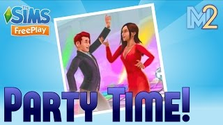 sims freeplay party event template