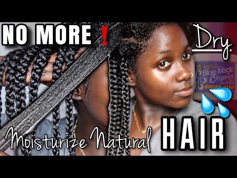 ALL U NEED IS GREASE AND WATER?! +Moisturizing Natural Hair With Grease for GROWTH|LENGTH RETENTION