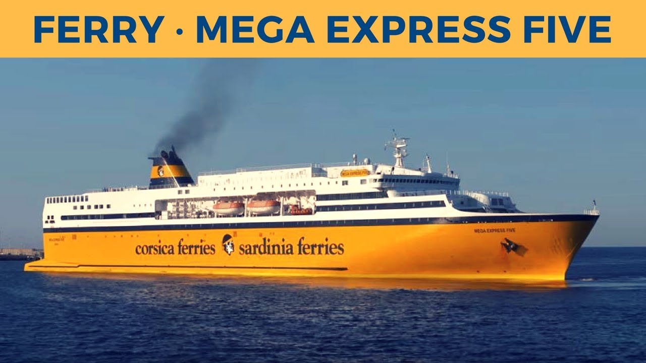 arrival of ferry mega express five in bastia corsica sardinia ferries youtube. Black Bedroom Furniture Sets. Home Design Ideas