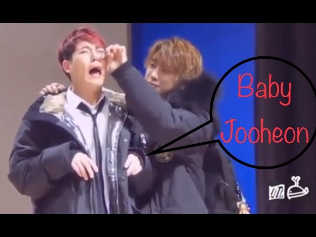 Monsta X Jooheon is a baby that need to be protected at all cost.