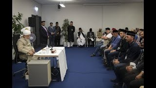 Caliph in Germany, Converts and Start of a New Life