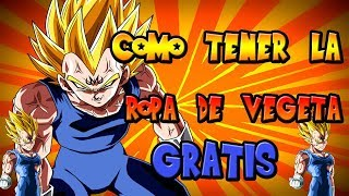 HOW TO HAVE MAJIN VEGETA CLOTHING WITHOUT ROBUX (SPAIN) (FREE CLOTHING)