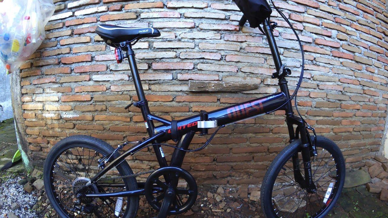 Seli Sepedalipat United Review Sepeda Lipat Murah Dari United Quest C1 02 Youtube