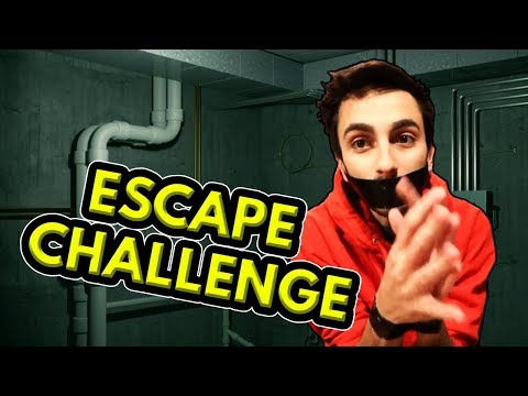 ESCAPE THE SECURE DUCT TAPE TRAP! (Real Life Challenges)