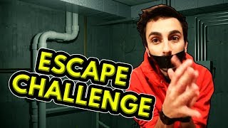 ESCAPE THE SECURE DUCT TAPE TRAP Real Life Challenges