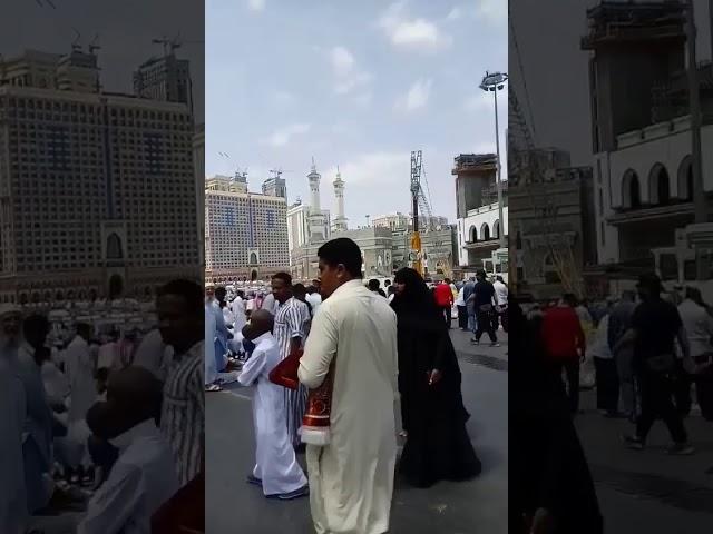During Umrah
