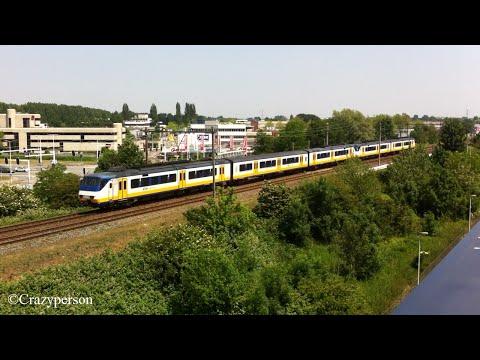 NS trein SGM langs het Alexandrium richting Rotterdam Centraal !