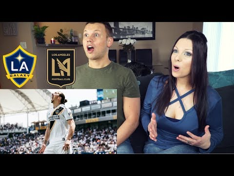 Zlatan Ibrahimovic | FIRST EVER MLS GOAL | LA GALAXY VS LOS ANGELES FC reaction