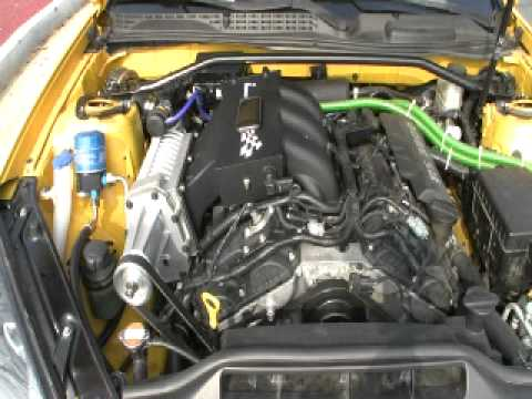 genesis coupe 3 8 supercharger youtube