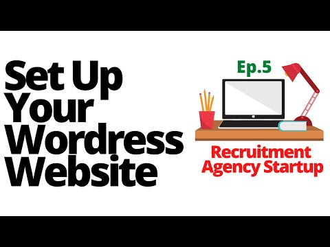 Setting up your FREE Wordpress website - Starting a recruitment agency