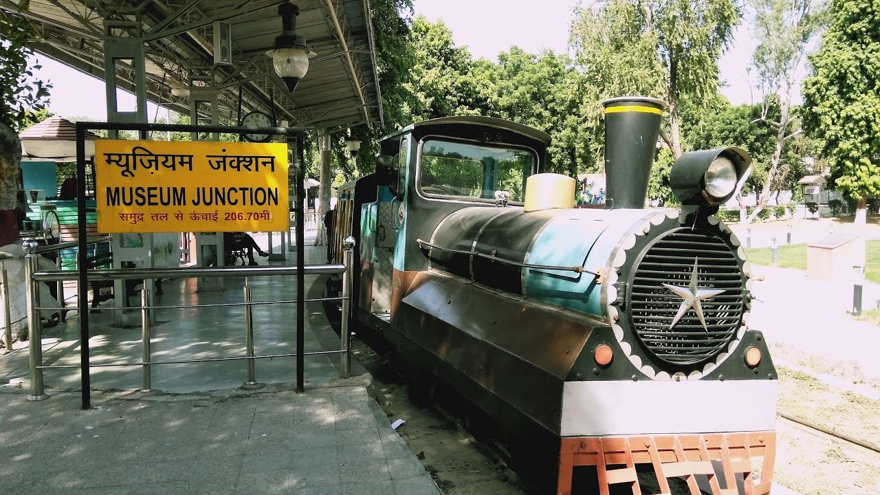 Plan Toys Train Joys : National rail museum delhi joy train ride gaddi