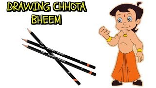 Drawing Chota Bheem | Chota Bheem Video