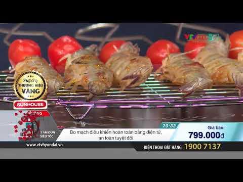 [BD10] SUNHOUSE -Bếp hồng ngoại SHD6011 + bình đun 1.8L