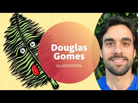 Live Illustration with Douglas Gomes - 1 of 3