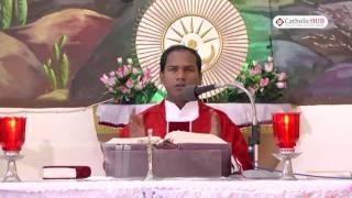 English Mass@ St  Anthony Church, Venkatapuram, Alwal, Hyd, Telangana,INDIA 24-08-16.HD