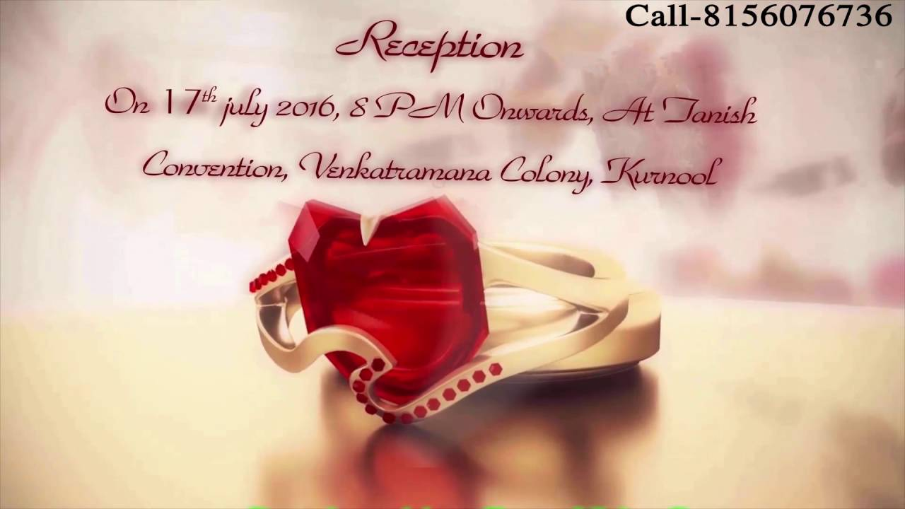 Islamic Wedding Invitation.Save The Date. Rs.1200-1700 Only - YouTube