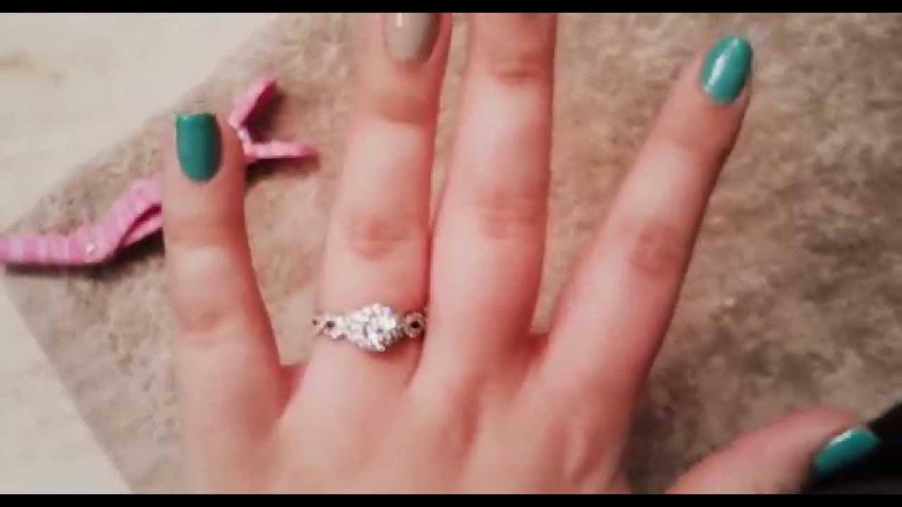 Copy of Neil lane engagement ring - YouTube