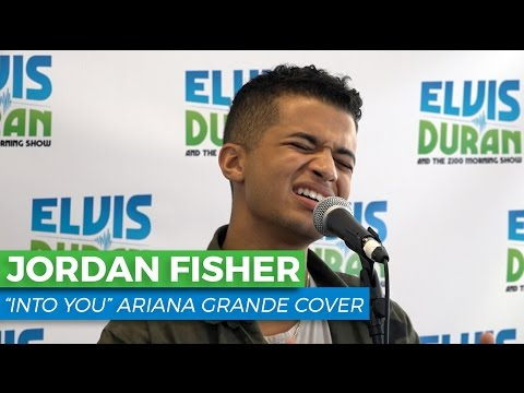 "Jordan Fisher - ""Into You"" Ariana Grande Acoustic Cover 