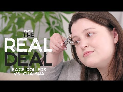 Should I Spend $20 Or $250 On A Face Roller? | The Real Deal | InStyle