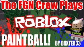 The FGN Crew Plays: ROBLOX - Paintball Revisited (PC)