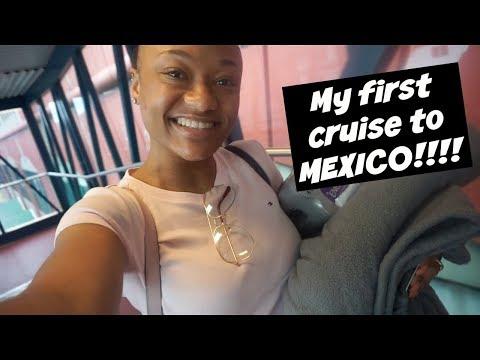 Spring Break 2018 | NOLA + Carnival Triumph Cruise to Mexico Pt 1