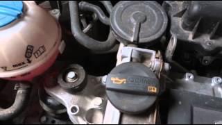 Стук двигателя а/м VW  Polo Sedan(, 2013-02-17T12:38:45.000Z)