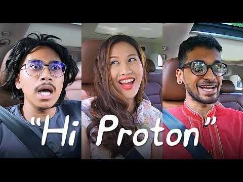 Proton X70 'Hi Proton' test using 'powderful' Malaysian accents! - AutoBuzz.my