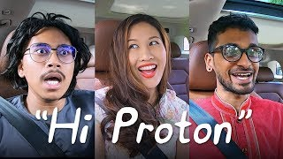 "Proton X70 ""Hi Proton"" test using 'powderful' Malaysian accents! - AutoBuzz.my"