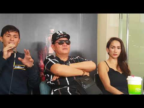 Matteo, Victor, Ina and Christian describes director Chito Roño as a director