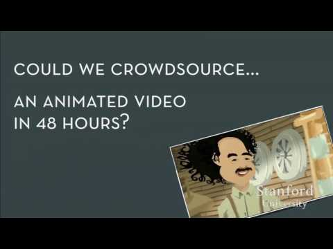 Stanford Seminar:  Expert Crowdsourcing with Flash Teams and Organizations